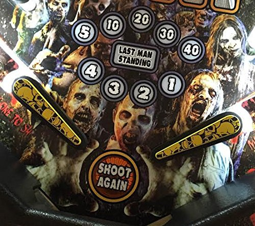 Pile of Skulls (Yellow & Black) - Pinball Flipper Bat Topper MOD by ULEKStore