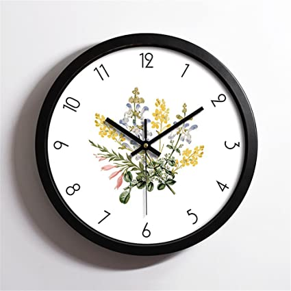 WERLM Diseño de personalidad a la decoración del hogar Reloj de pared Reloj de Arte de