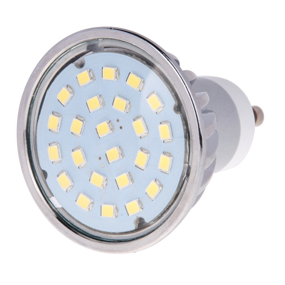 hero led gu10 24s ww mr16 gu10 led 120v halogen replacement bulb 120 degree ebay. Black Bedroom Furniture Sets. Home Design Ideas