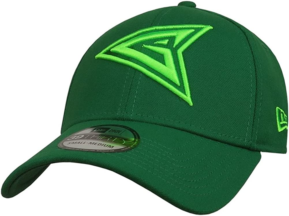 Green Arrow Symbol 39Thirty Fitted Hat Green