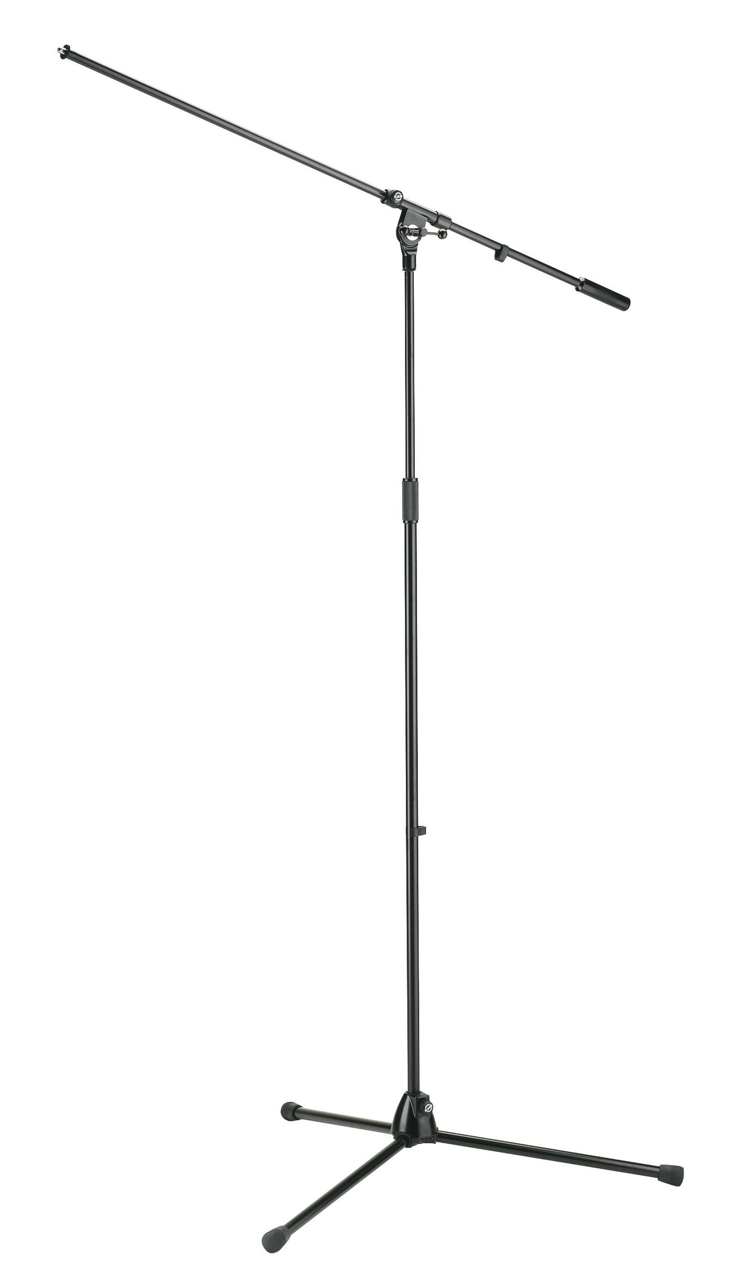 K&M 21021 Overhead Microphone Stand - Black