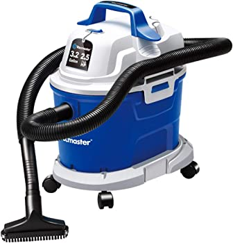 Vacmaster Wet/Dry 3.2 Gallon Wall Mounted Garage Vacuum