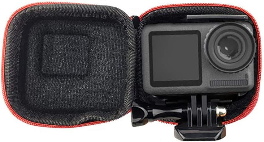 Black Waterproof Carrying Case for DJI Osmo Action,Zhaowei Accessory Mini Storage Carry Pouch Case Bag Storage Box