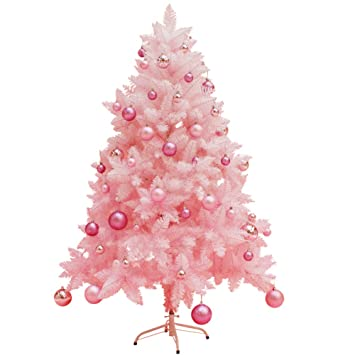 Amazon.com DLPY Norwegian Spruce Pink Christmas Tree, in