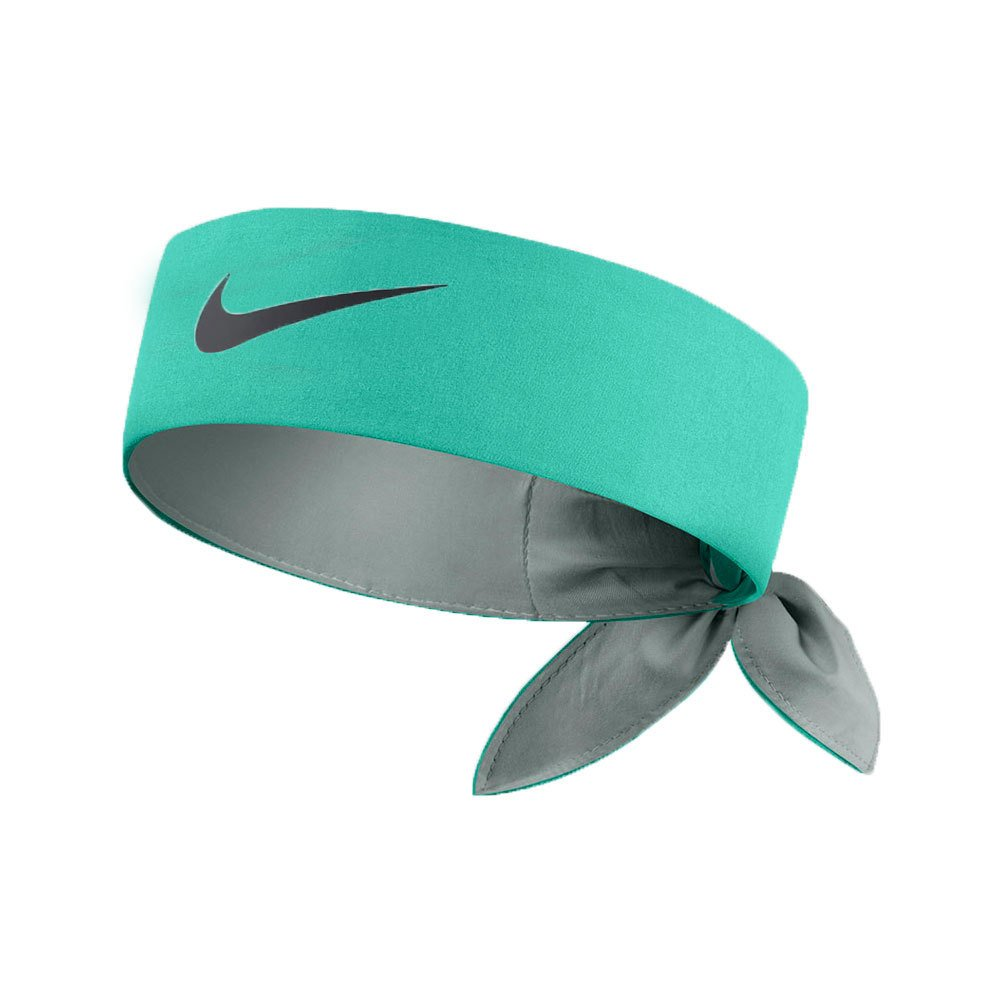 Nike Head Tie Headband [Lt RETRO (Teal)/Navy]