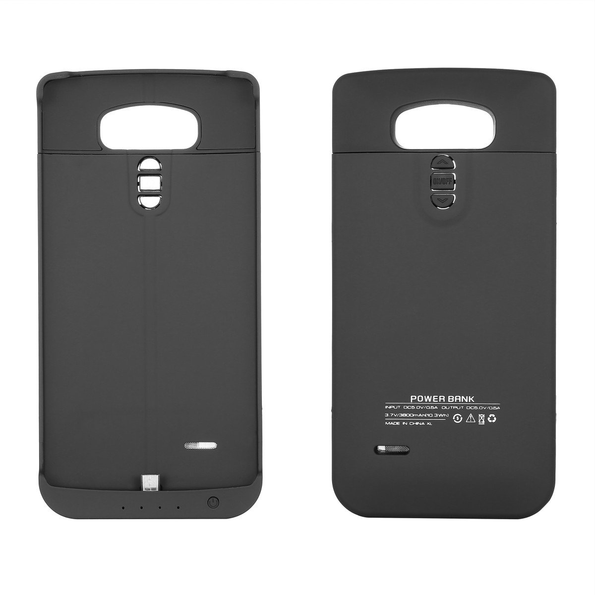 Torubia LG G4 Battery Case, Pouch External Protective Battery Cover LG G4 Juice Pack Case [Pouch ] - Black
