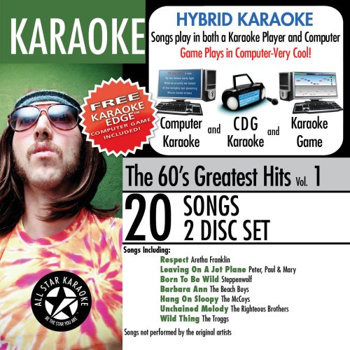 Karaoke: The 60's Greatest Hits With Karaoke Edge (60's Karaoke)