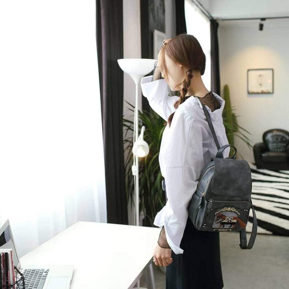 ZXWYB Zaino in Pelle delle Donne della Borsa di Moda Grandi Borse a Spalla Borsa da Viaggio da Donna, Donne Zaino Borsa (Color : A) B