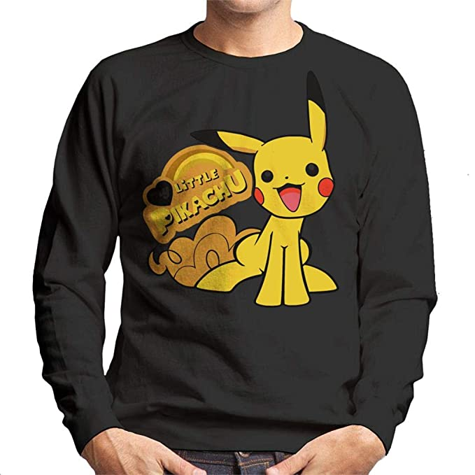 Pokemon My Little Pikachu Pony Mix Mens Sweatshirt