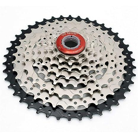 Lijincheng Ruedas Libres 8 Velocidad 11-42T MTB Cassette Bicicleta ...