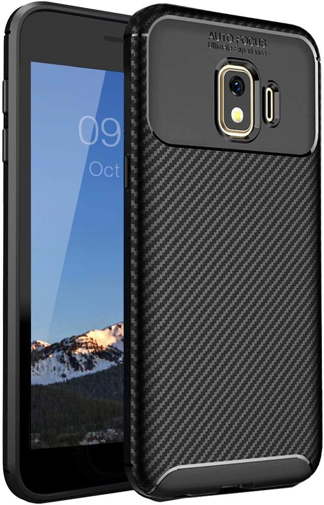 Samsung J2 Case,Samsung Galaxy J2 Case,J2 Core Case,J2 Dash Case,J2 Pure Case,J260 Case, Sunnyw Flexible Soft TPU Shockproof Durable Armor Slim Fit Case Cover for Samsung Galaxy J2 Core (Black)