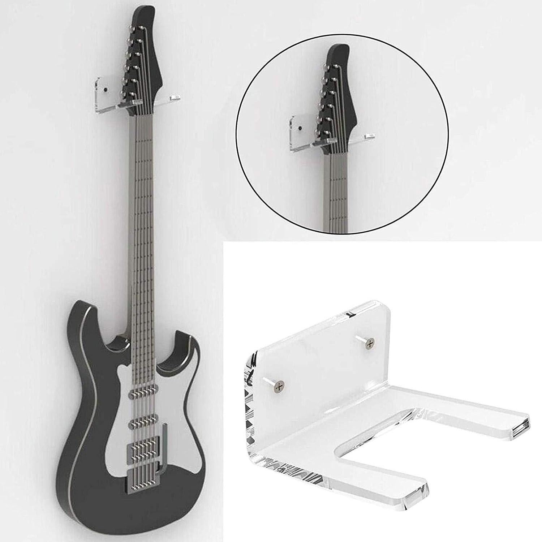 banjo En acrylique guitare /électrique Support mural universel pour guitare Pour guitare acoustique basse Transparent et durable ukul/él/é classique