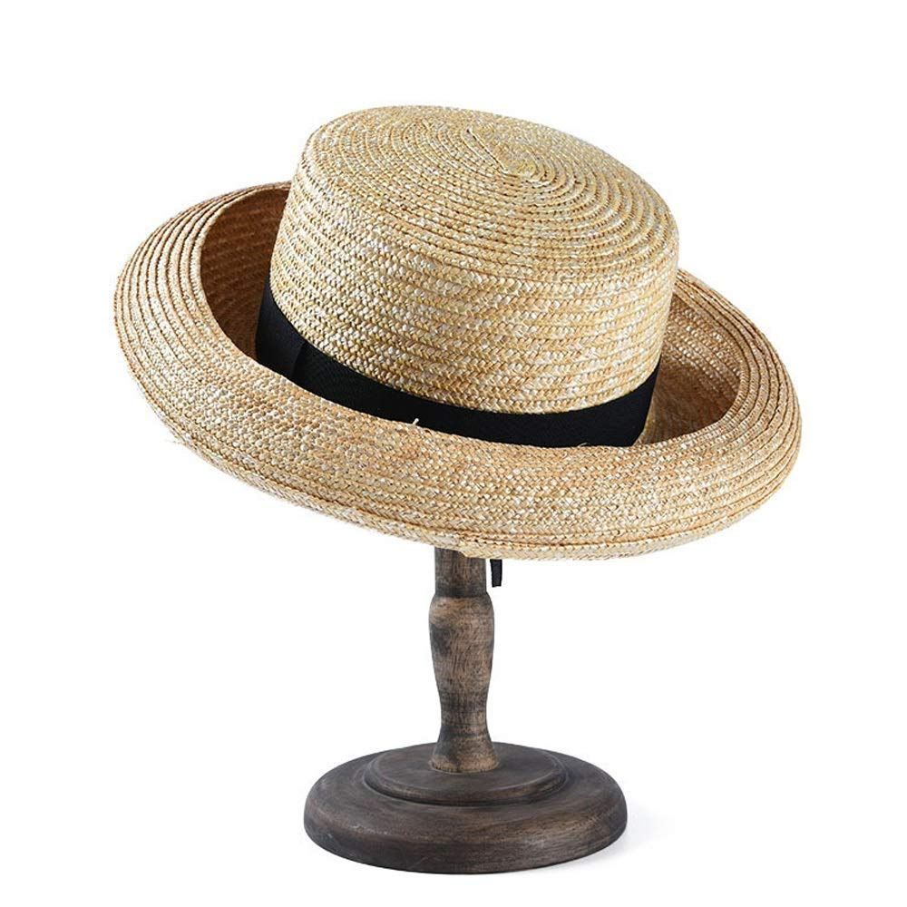 Hats Spring Sun Hat Curling Straw Hat Summer Hat Creative Ladies Shape Travel Vacation Sun Hat Visor Hat Cap GeorgeB