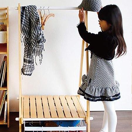 Amazon.com: Chunlan Perchero de madera estilo japonés para ...