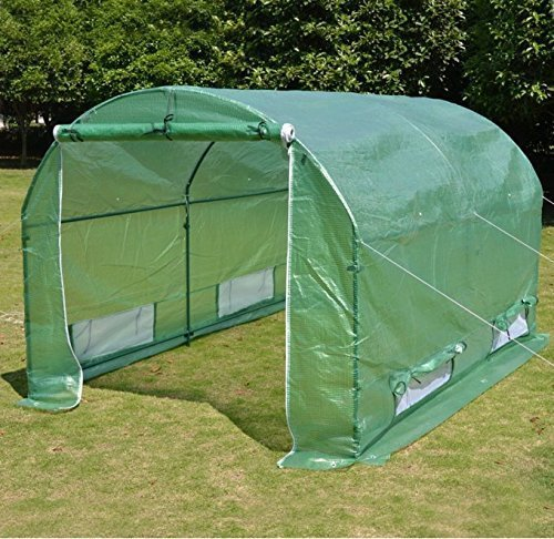 BenefitUSA Replacement 10'x7'x6′ (Frame Does Not Included) Green House Cover