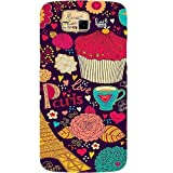 Casotec Paris Flower Love Design Hard Back Case Cover for Samsung Galaxy Grand 2 G7102 / G7105