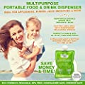 Heaven's Bliss Reusable Food Pouch Healthy Wholesome Baby
