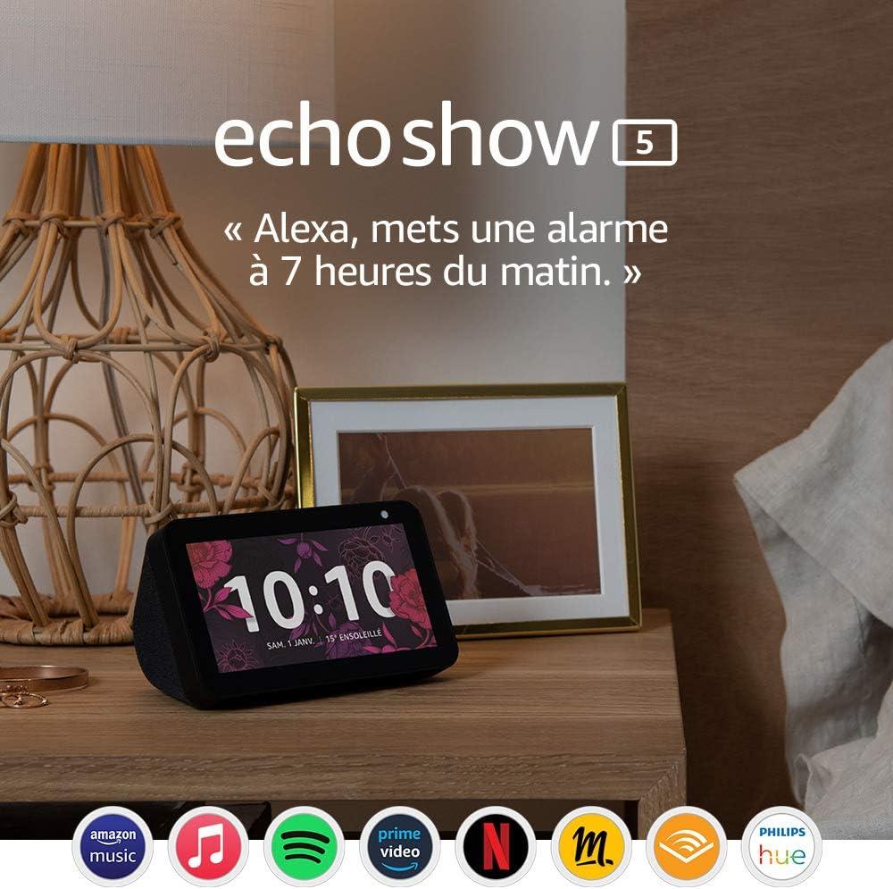 Echo Show 5 (1e génération, modèle 2019)   Écran connecté avec Alexa...