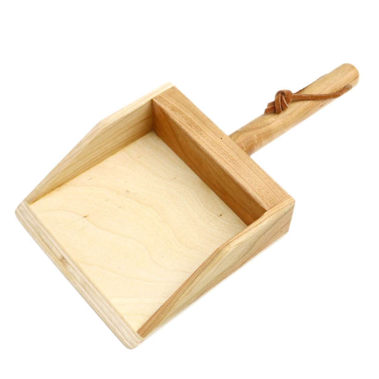Camden Rose Wood Dust Pan