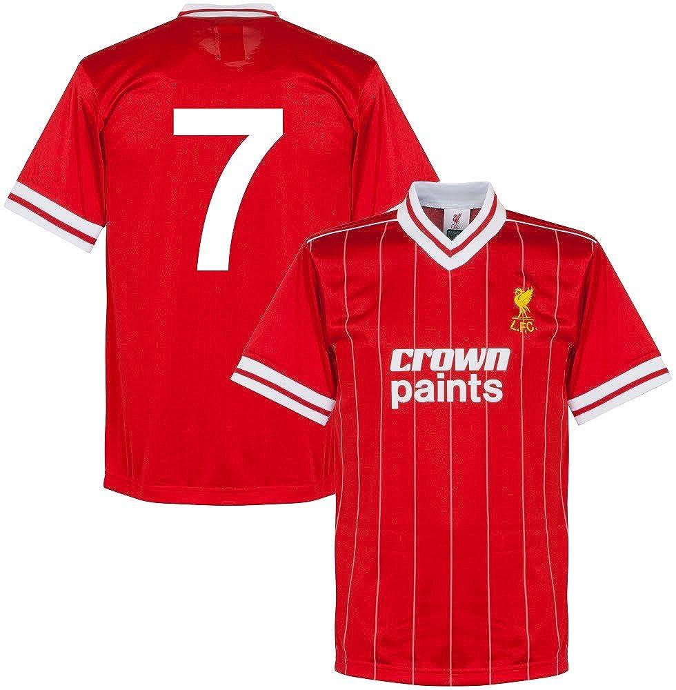 1982 Liverpool Home Retro Trikot + No.7