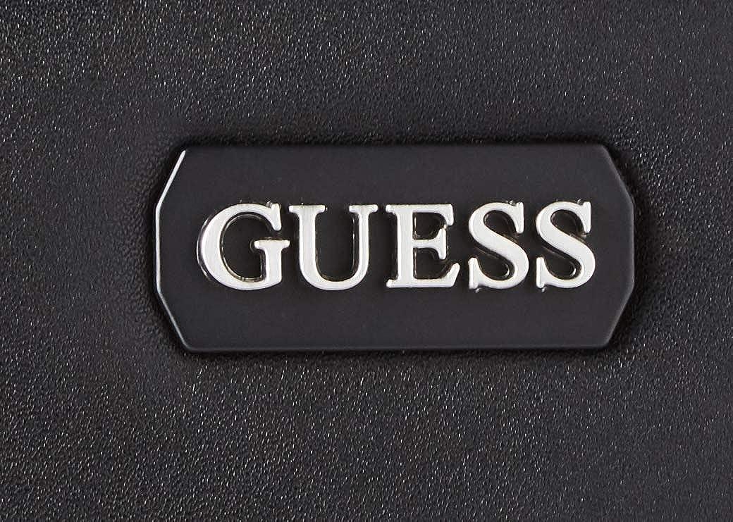 Guess Borsa tracolla uomo Dan flat crossbody colore nero UB21GU05