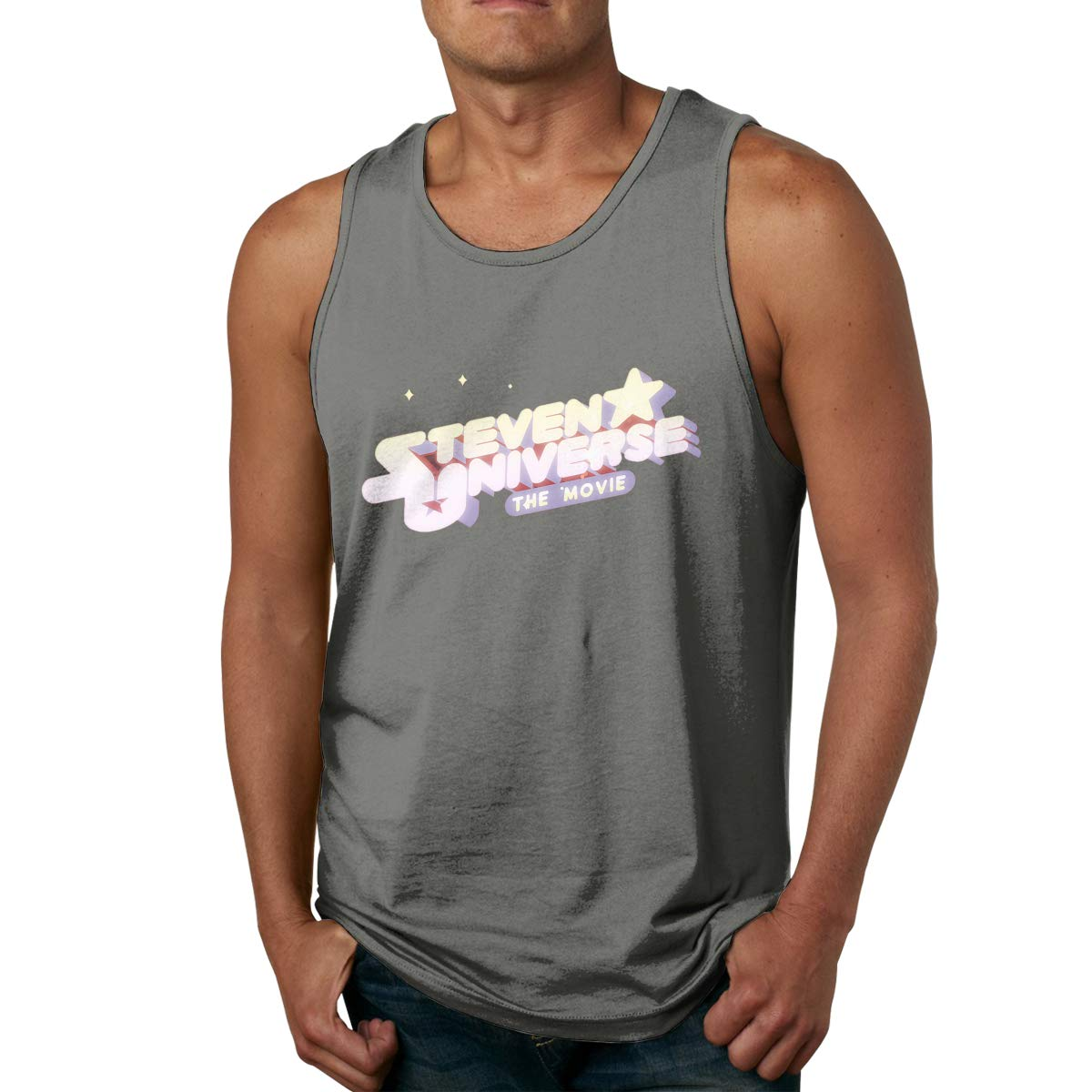 S Steven Universe Heraldic Shield Durable Ness Sleeveless Tank Tops Tees Shirts