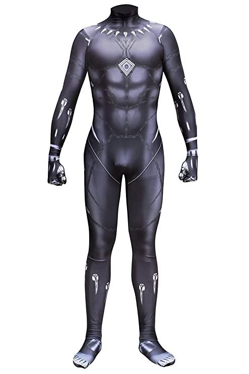Sitila Full Body Black Panther Dress Up Cosplay Traje Zentai ...