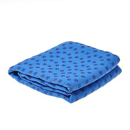 Amazon.com : Rainbow25 Non Slip Yoga Mat Cover Towel Blanket ...