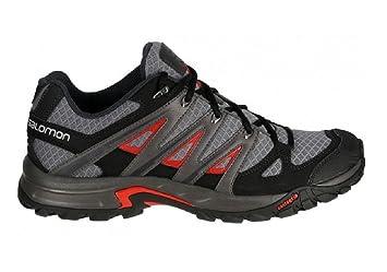 d35baeb80826 Salomon ESKAPE AERO Black Men Hiking Shoes  Amazon.co.uk  Sports ...