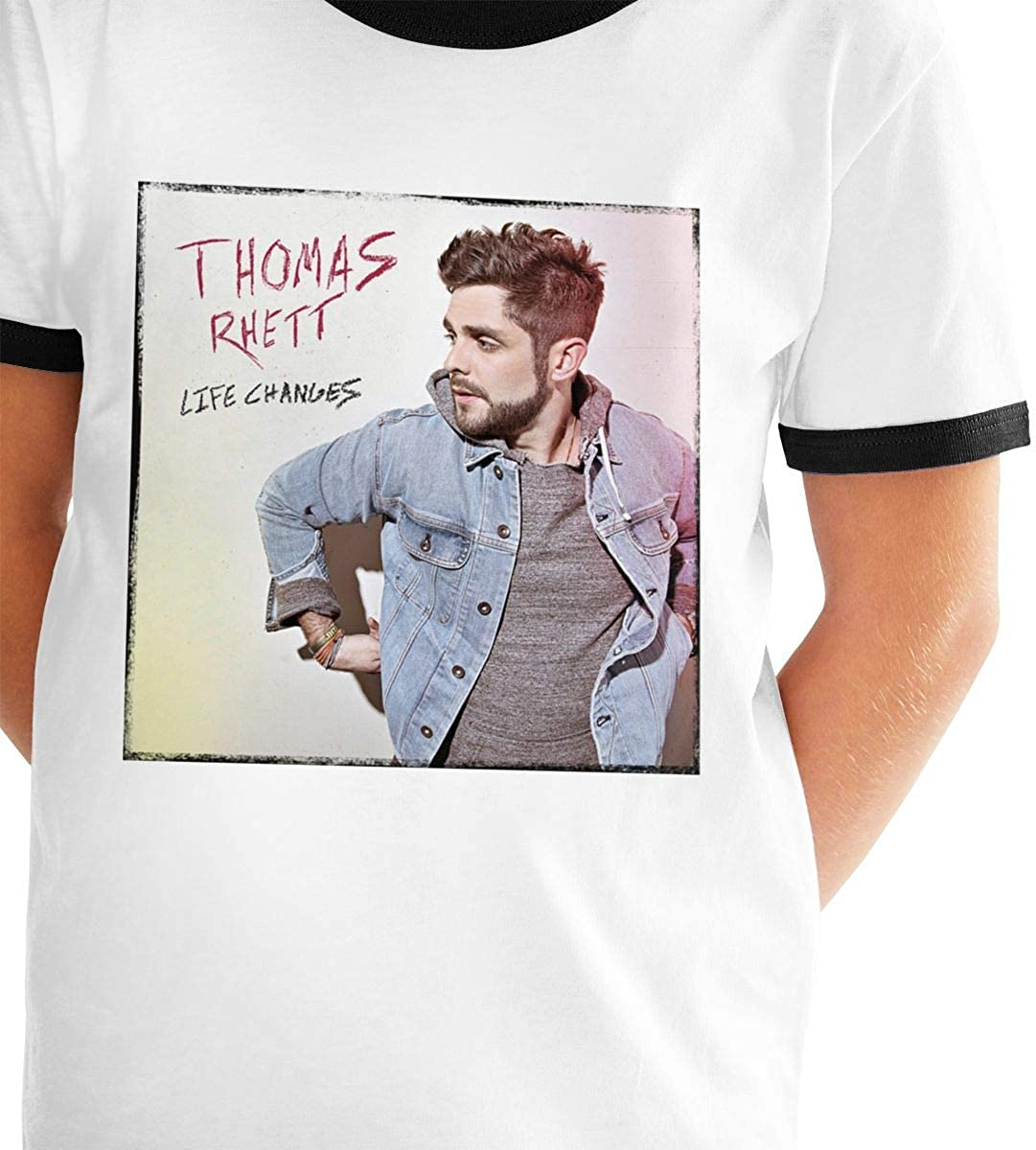 Thomas Rhett Life Changes Cotton Girls Boys T Shirt Children Youth Fashion Black