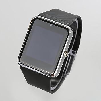 Wefun GT08 Reloj Inteligente Bluetooth con TF/Tarjeta SIM Ranura,Análisis de Sueño,