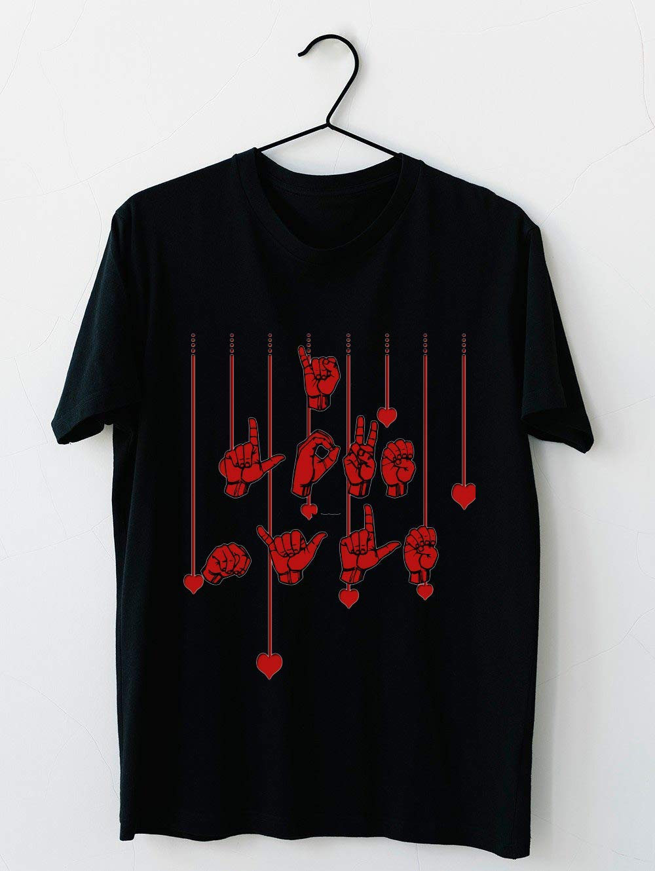 Asl American Sign Language Tshirt I Love Nyle 87 T Shirt For Unisex