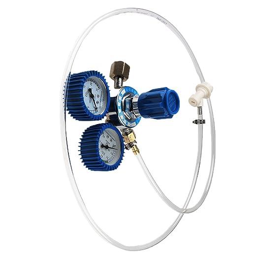 Magideal Regulador CO2 biossido de carbono cerveza Soda Homebrew Tubo Kit dispensador: Amazon.es: Hogar