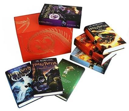 Set 7 Libros Jk Rowling Harry Potter Colección Completa Tapa Dura Adulto Joven  Niño 3fc65436fa8