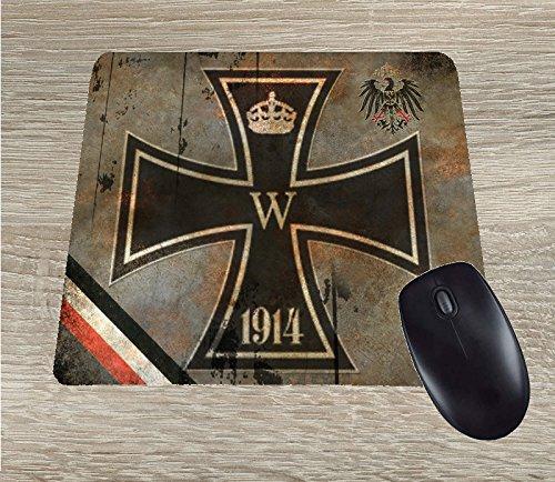 Iron Cross vintage Mousepad mouse pad WW1 German patriotic 1914-1918