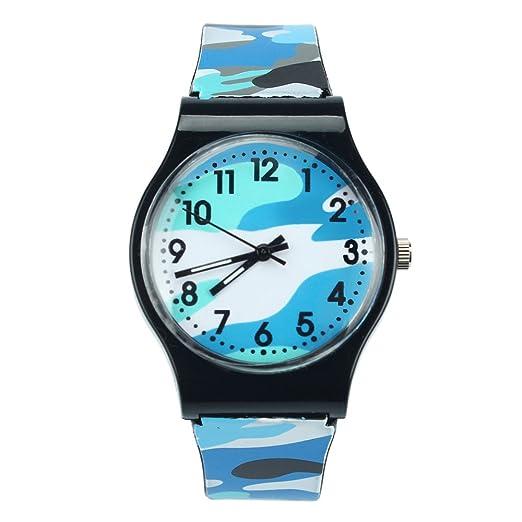 MA87 - Reloj Digital de Pulsera para niños y niñas, Color Morado (Azul)