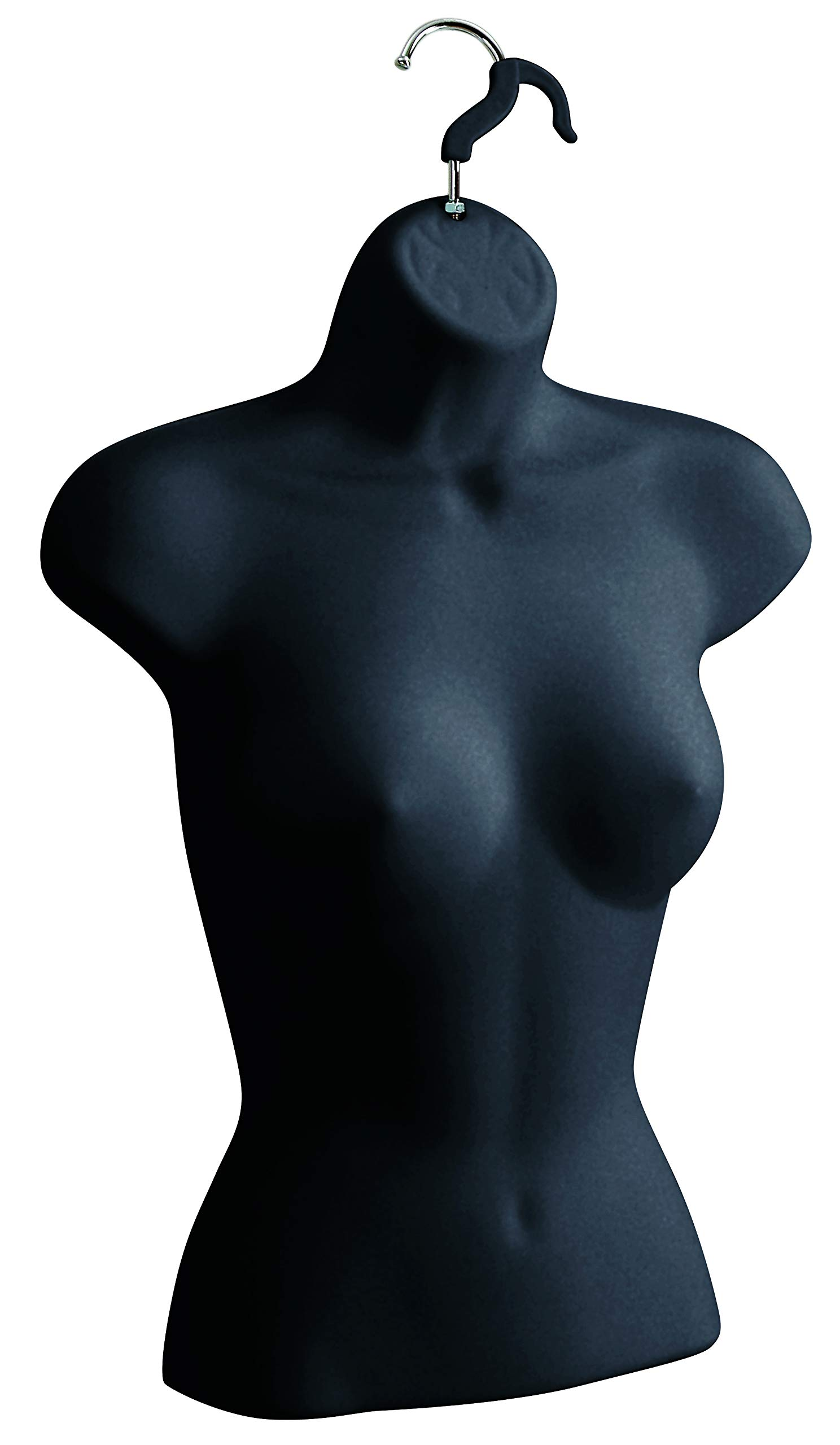 Female Molded Black Shirt Form - Fits Women's Sizes 5-10