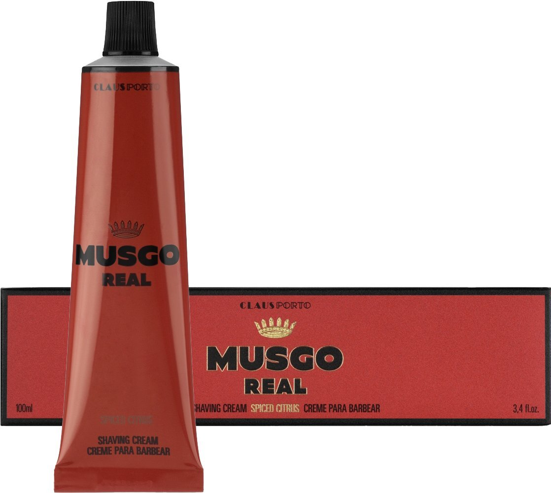 Claus Porto Musgo Real Spiced Citrus Shaving Cream (100 ml)