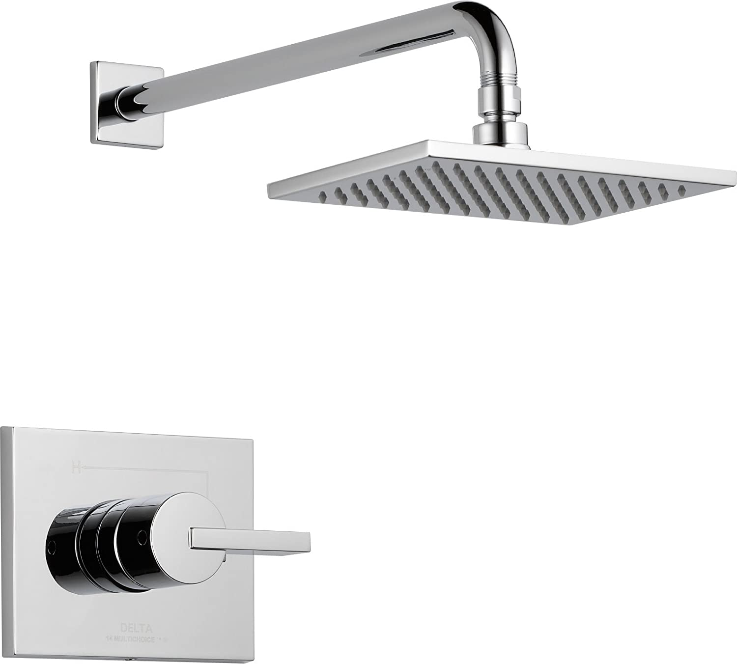T14253 Single Function Shower Single Spray Included Image 1