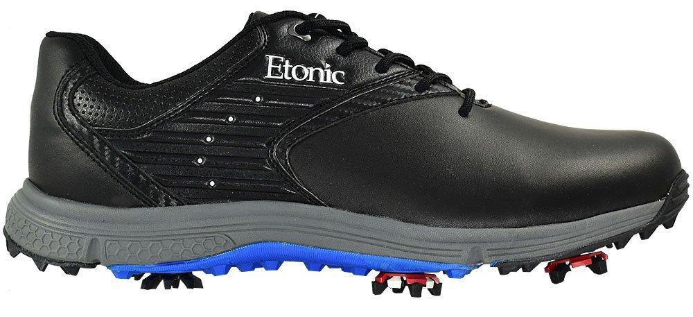 Etonic golf- Stabilite靴 B00ILEB9P2 14 Medium ブラック/ブルー