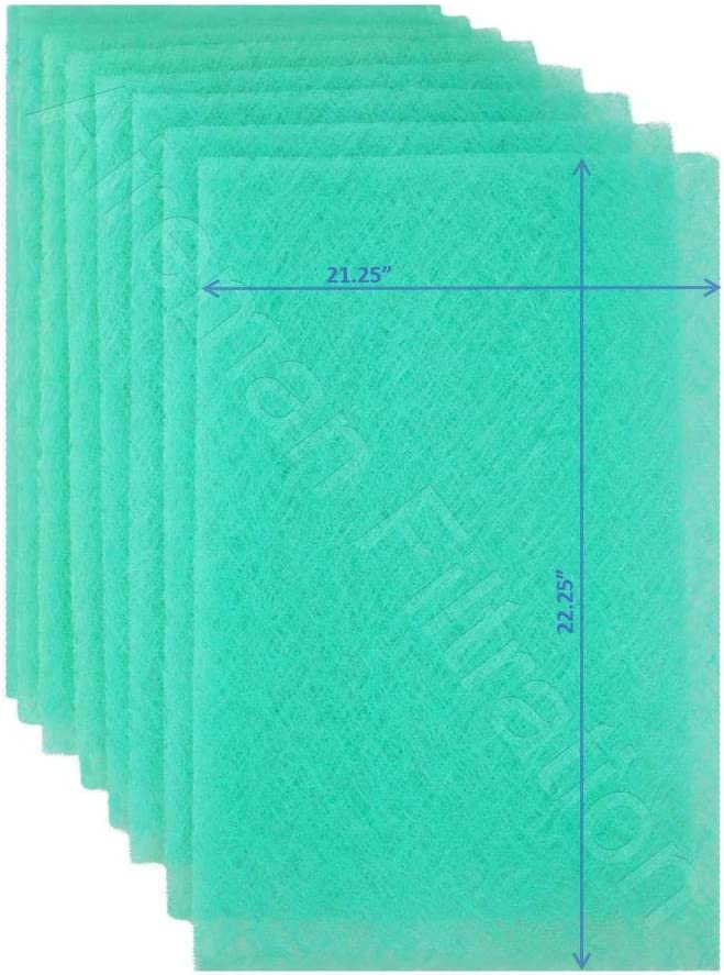 16x25x1 Wingman1 Electronic AC Furnace Air Filter Replacement Pads Year Supply 4 Changes