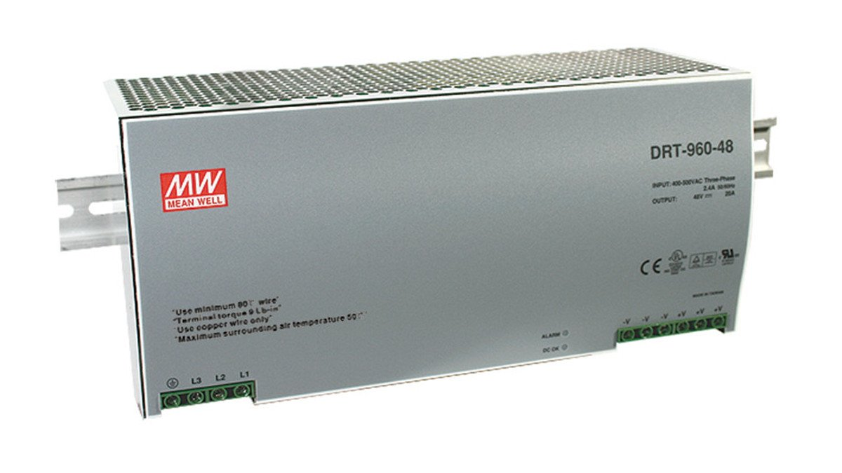 Test, Measurement & Inspection MEAN WELL NEW SDR-960-48 48V 20A ...