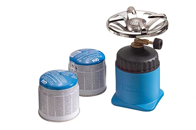 CFH CARTRIDGE STOVE HAPPY CAMPER with 2 Cartridges new Gas Stove Camping Cooker