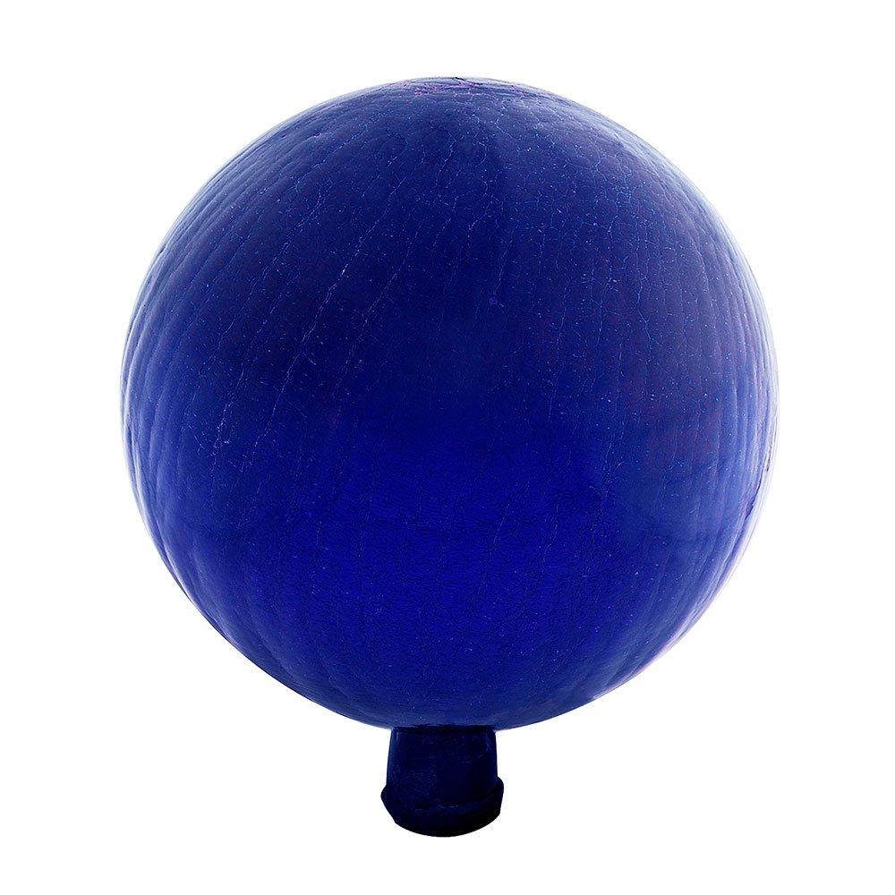 Achla Designs 12-Inch Crackle Gazing Globe Ball, Blue by Achla