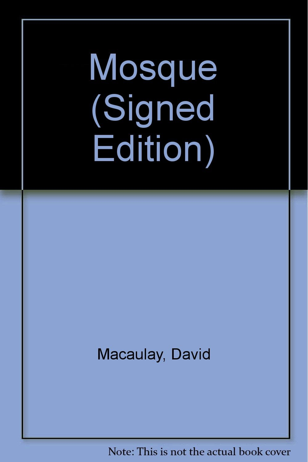 mosque signed edition
