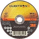 3M Cubitron II Cut-Off Wheel T1, Ceramic Grain, 3'' Diameter x 0.06'' Width, 36 Grit, 3/8'' Center Hole Diameter (Pack of 25)
