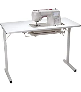 Amazon janome universal sewing table ii arrow sewing cabinets 601 gidget i sewing table white watchthetrailerfo