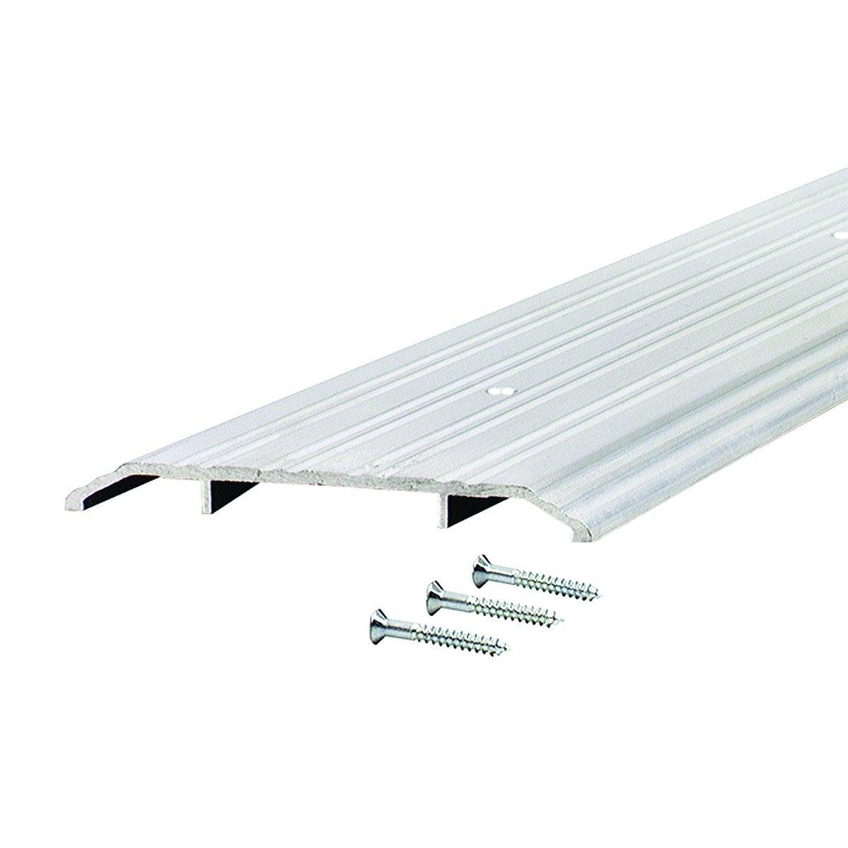 Commercial 5'' Wide Fluted Top Aluminum Door Threshold - #99071