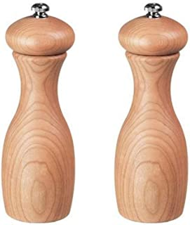 product image for Fletchers' Mill Marsala Collection Salt & Pepper Mill, Cherry - 7 Inch, Adjustable Coarseness Fine to Coarse, MADE IN U.S.A.