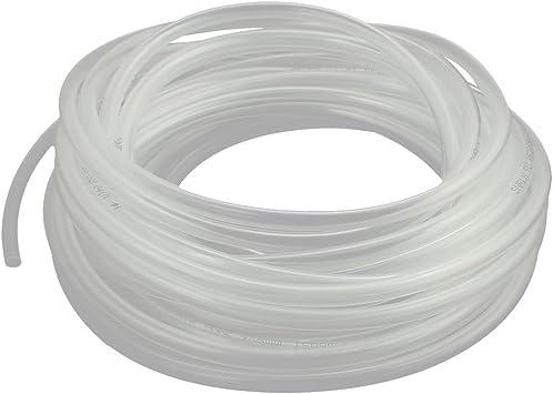 Tubo de Aire Flexible de poliuretano 2 M PU Manguera Tubo Neumático claro 6 X 4 mm
